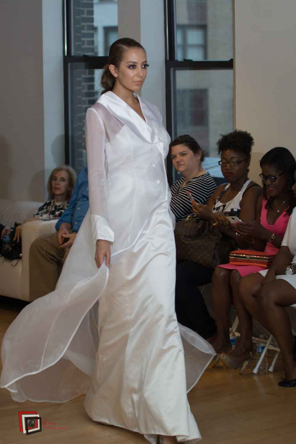Mirage – Satin Wedding Dress New York Fashion Week