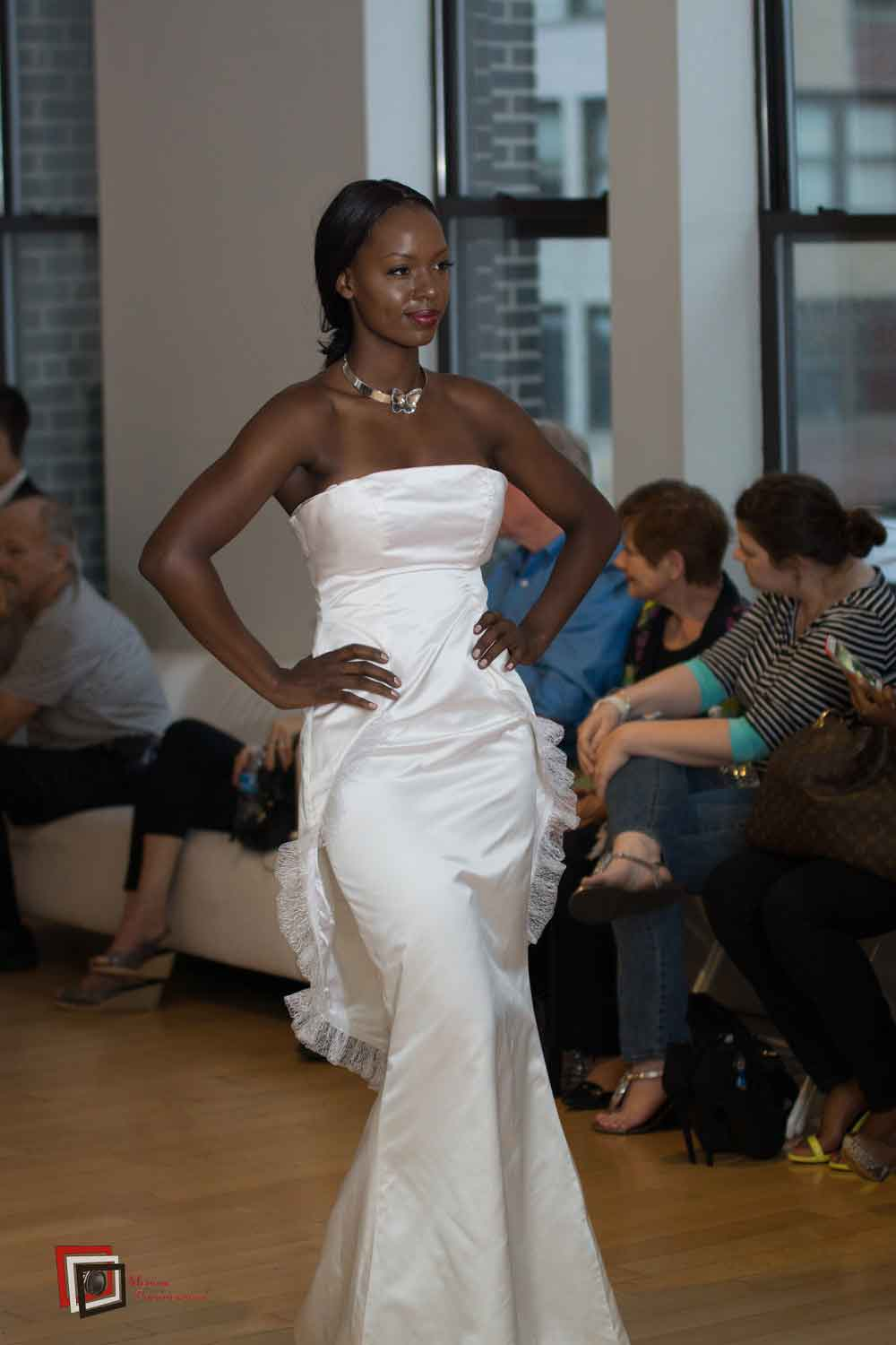 Maya- Strapless Dress New York Fashion Week 2