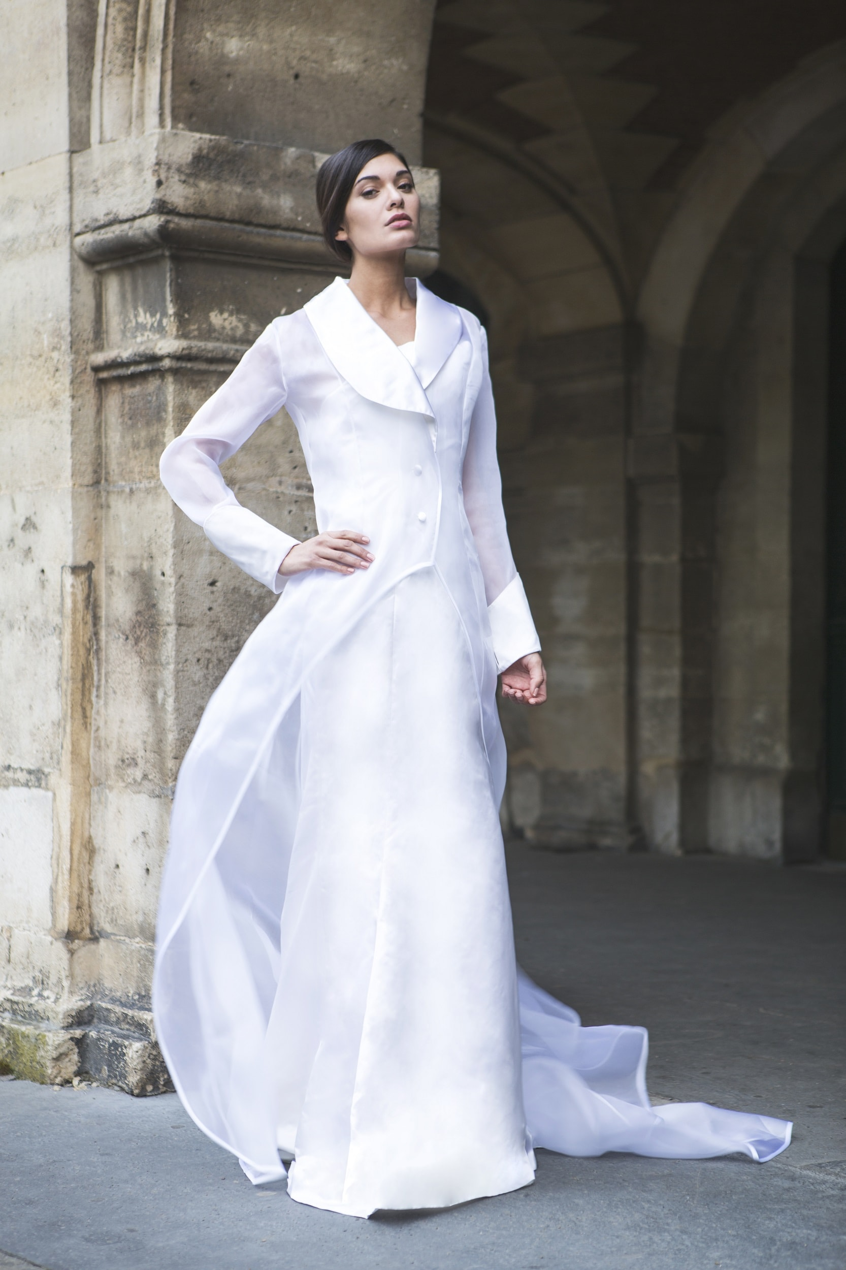 Mirage- Strapless Wedding Dress by Laureen Couture